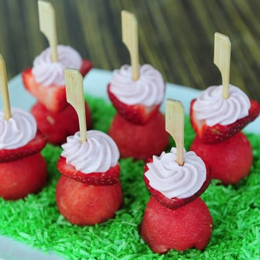 Strawberry Cream Cheese Towers