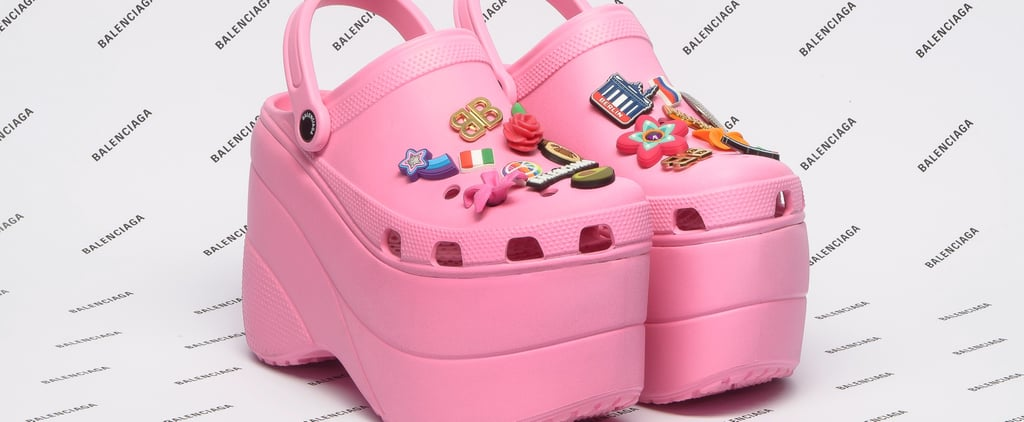 "Balenciaga's Platform Crocs Beg the Question, ""What Are Those?"""