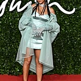 Rihanna Wearing Fenty at the British Fashion Awards 2019