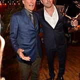 Ben Affleck posed backstage with Clint Eastwood after receiving his guy of the year award.