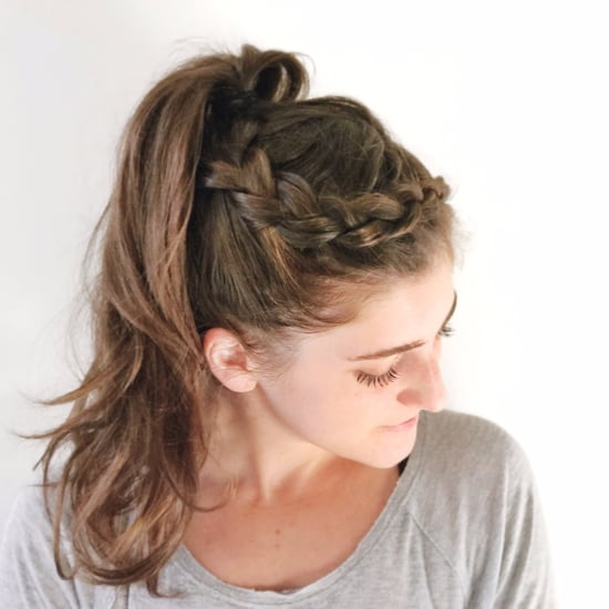 Easy Braid Hairstyle For the Gym