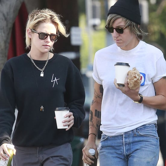 Kristen Stewart and Alicia Cargile Out in LA August 2016