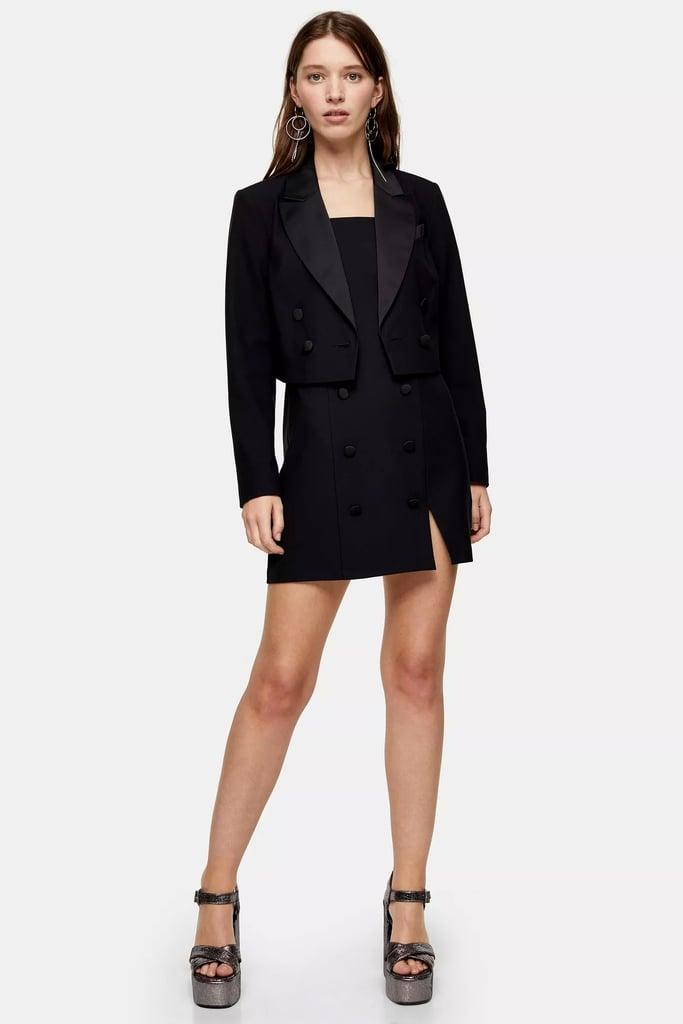Topshop Blazer + Dress