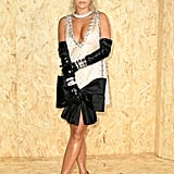 Rita Ora at the Miu Miu Paris Fashion Week Show