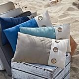 Calliope Button Maui Lumbar Pillow