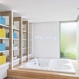 """Steamy"" Over the Bath Tub"