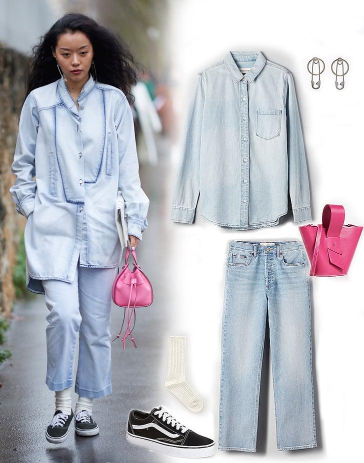 Vans Outfit Ideas 2019   POPSUGAR Fashion
