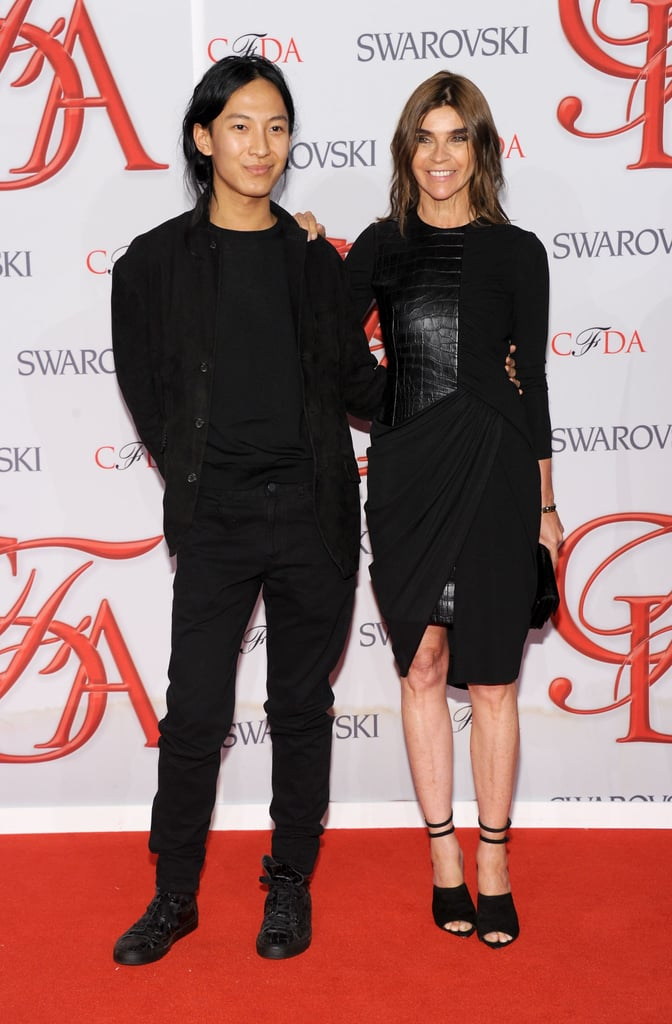 Alexander Wang and Carine Roitfeld