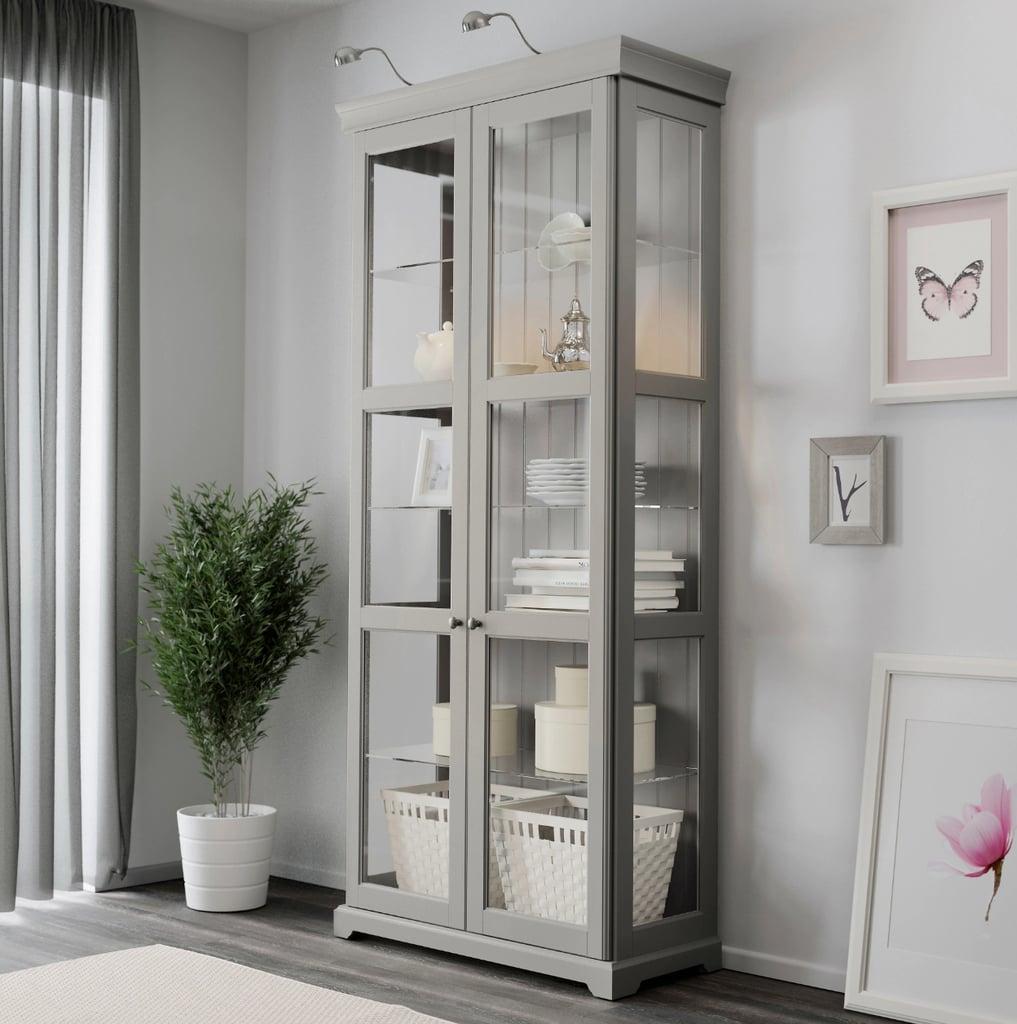 Liatorp Glass Door Cabinet Best Ikea Living Room Furniture