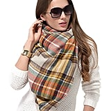 Dimore Plaid Scarf