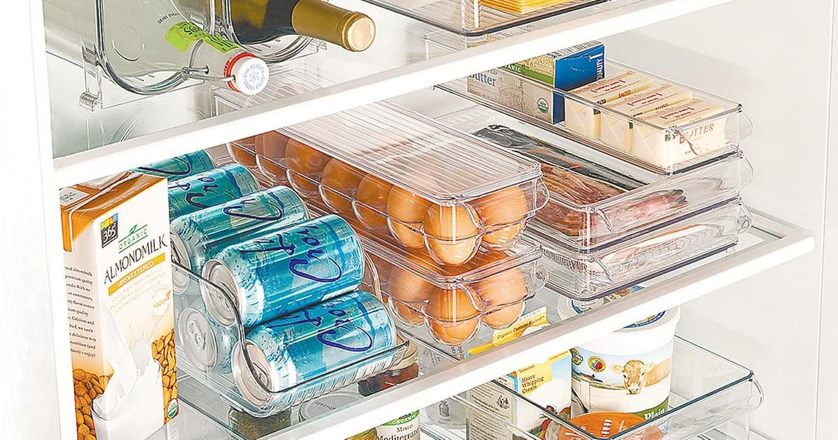 Clean Out Your Cluttered Fridge With These 21 Genius Organizers