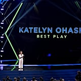 Katelyn Ohashi at the 2019 ESPYs