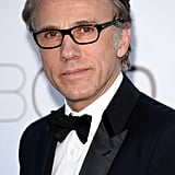 Christoph Waltz at the amfAR gala in Cannes.