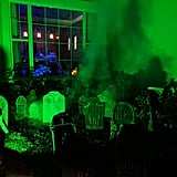 The Haunted Mansion-Inspired Halloween Graveyard