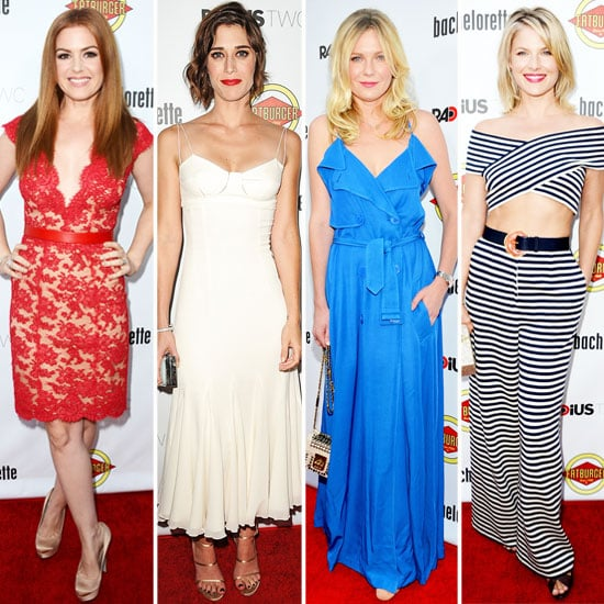 Isla Fisher, Kirsten Dunst, Lizzy Caplan And Ali Larter Best Dressed Poll: The Bachelorette