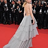 The Back of Diane Kruger's Dior Gown