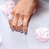 The Custom Rose Gold Ring Was Designed by Lorraine Schwartz