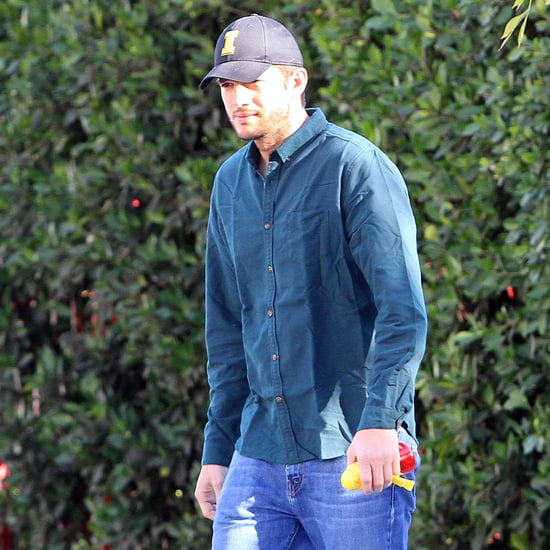 Ashton Kutcher Out in LA December 2016
