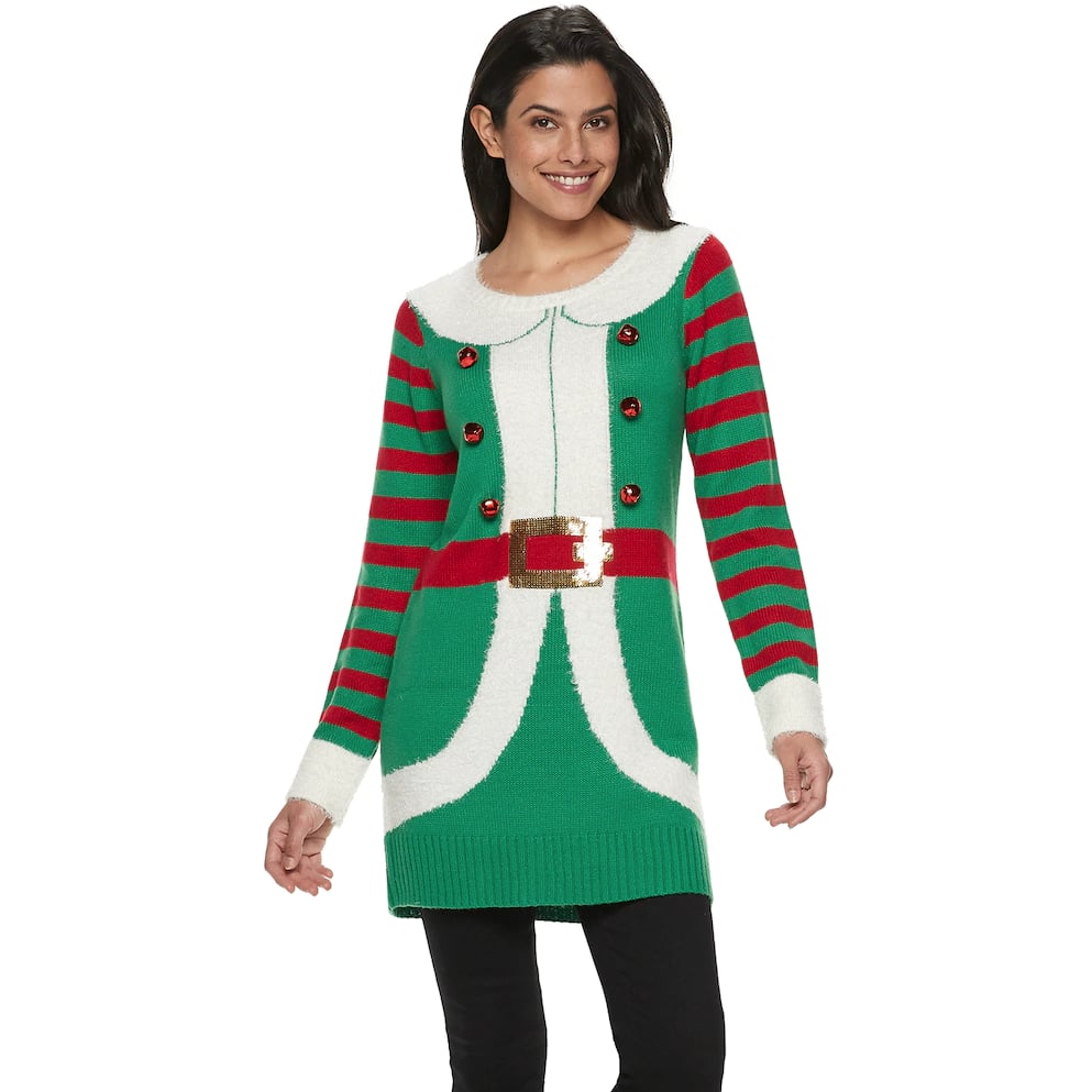 Womens Holiday Tunic Best Kohls Ugly Christmas Sweaters