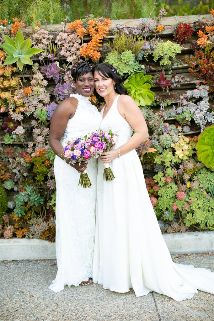 Kristina and Tiphanie had an intimate outdoor garden wedding in Arroyo Grande on the central coast of California.