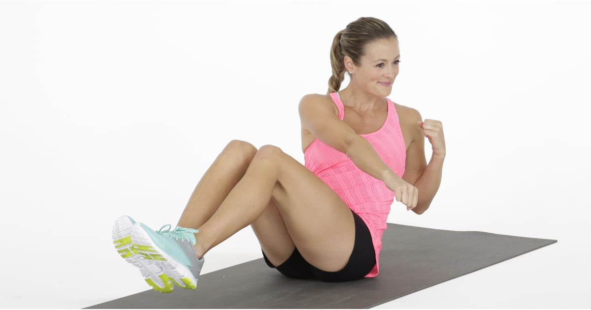 This 20-Minute Burn-and-Tone Tabata Workout Is a Fast, Fun Way to Torch Calories