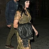Katy Perry and John Mayer went out to dinner at the Pearl restaurant in NYC together.