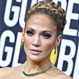 Jennifer Lopez's Valentino Bow Dress at the Golden Globes