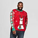Adult Plus Size Llama Family Ugly Christmas Sweater