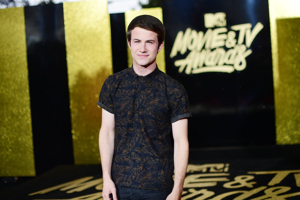 It has certainly been a great weekend for the 13 Reasons Why cast. After getting the official green light for season two, the stars of the Netflix drama celebrated by attending the MTV Movie and TV Awards in LA on Monday. Aside from sharing videos of themselves getting ready together on their Instagram stories, a few of the actors also walked the red carpet before the downpour of rain and hail. Miles Heizer (who plays Alex) looked dapper in a black and white suit, while Dylan Minnette (who plays Clay) adorably admired a few rain drops. As the group prepares to present today, we're sure there will be even more adorable moments between them inside.