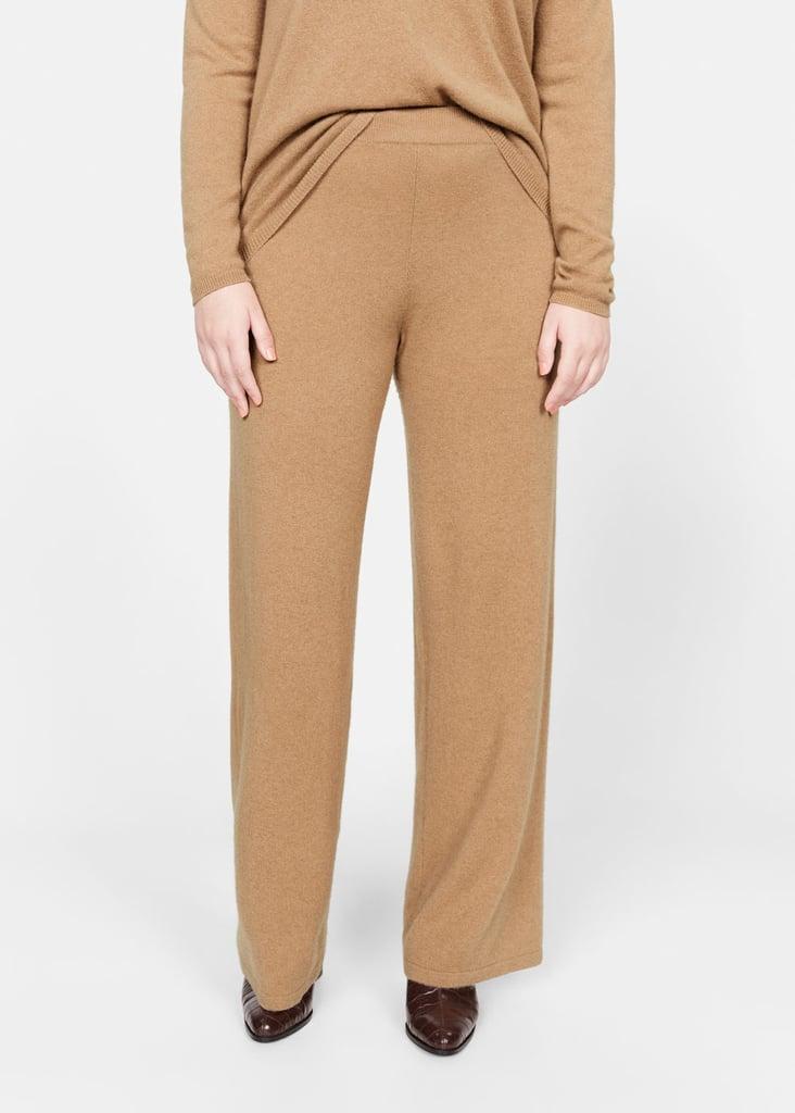 100% cashmere pants