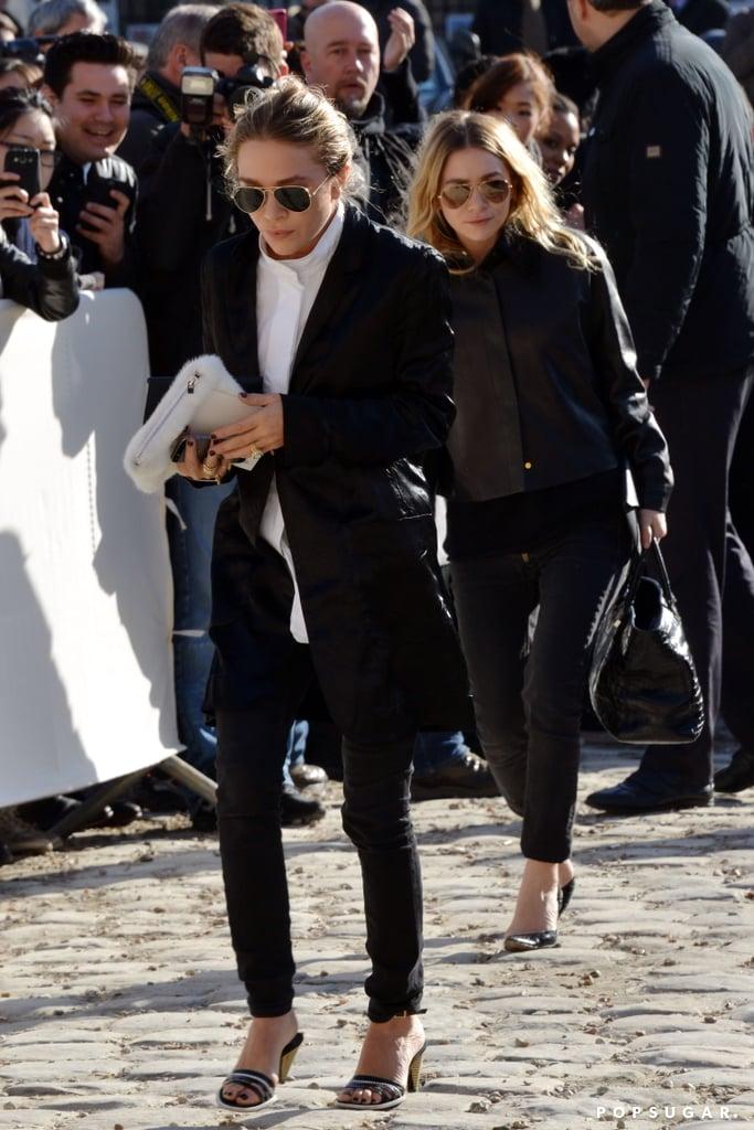 Mary-Kate Olsen Brings Out Her Blinding Ring in Paris