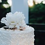 One easy way to make your cake feel supergirlie and sweet? Soft, textured frosting and a beautiful flower on top!