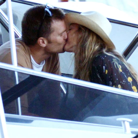 Gisele Bundchen and Tom Brady Kissing in Italy 2016