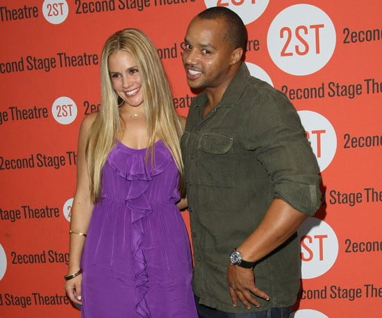 Slide Picture of CaCee Cobb and Donald Faison on a Date in NYC