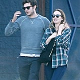 Adam Brody and Leighton Meester Out in LA October 2016