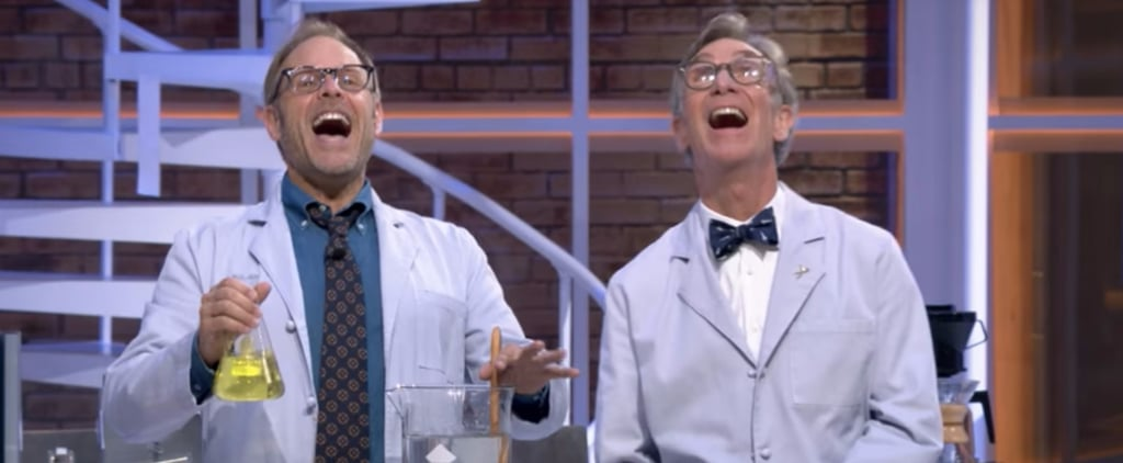Alton Brown and Bill Nye Are Joining Forces to Make Your Geekiest Dreams Come True