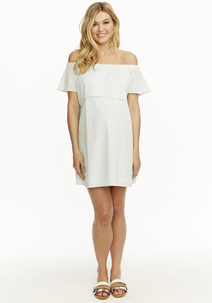 This Rosie Pope Camille Dress ($168) delivers an extra dose of sweet with its on-trend, off-the-shoulder silhouette and delicate ruffles.