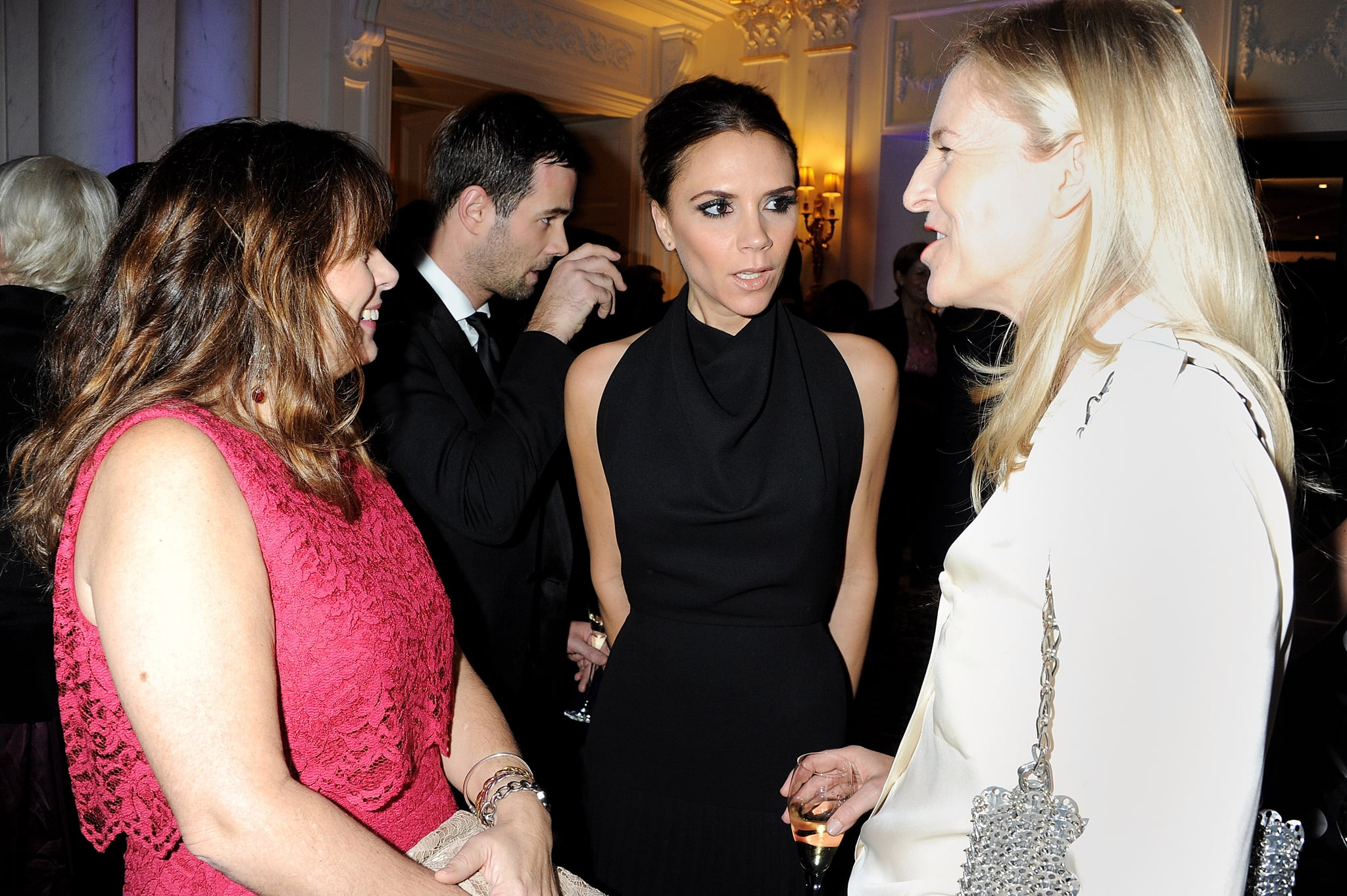 Victoria Beckham and friends