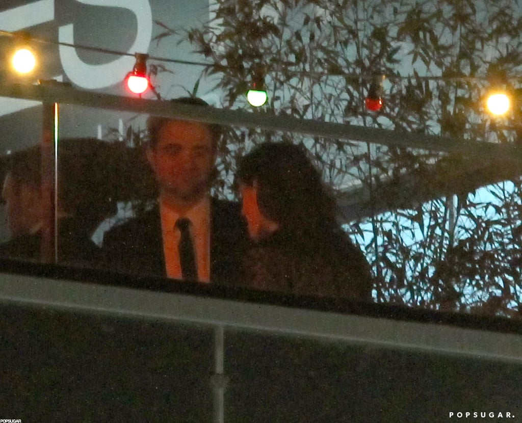 Robert Pattinson and Kristen Stewart partied in Cannes.