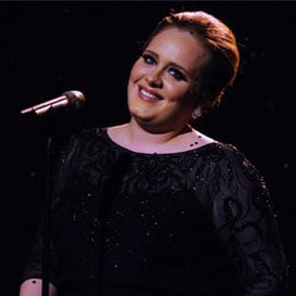 Watch Adele's Brit Awards Performance 2011 Video