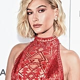 Hailey Bieber at the 2018 Tribeca Film Festival