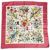 Gucci Accornero Flower Scarf