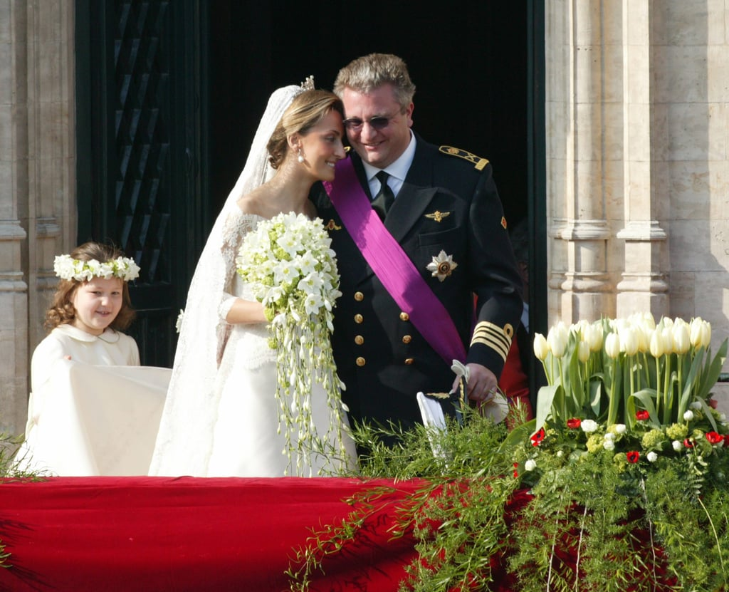 Prince Laurent and Claire Coombs