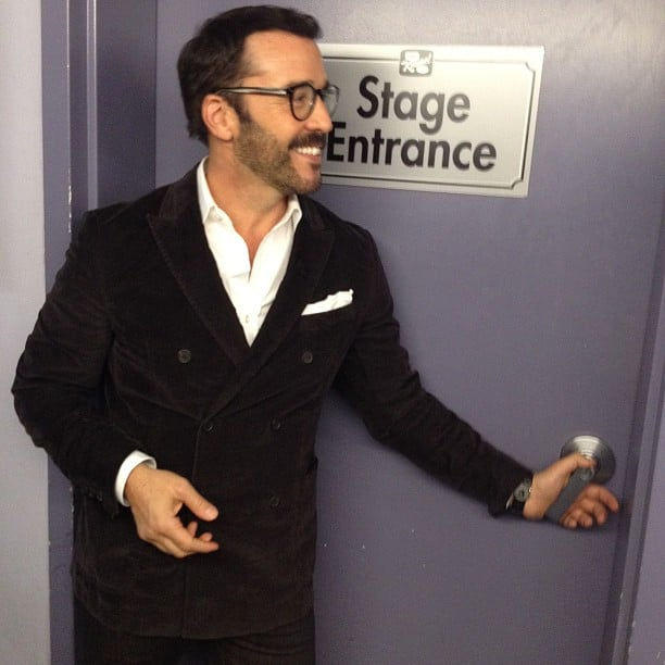 Jeremy Piven came by Jimmy Kimmel Live. Source: Instagram user howulivinjpiven