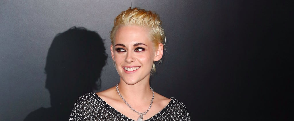 Whoa! Kristen Stewart Is Officially a Platinum Blonde