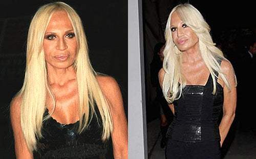 Do You Prefer Donatella Versace's Hair Straight or Wavy?