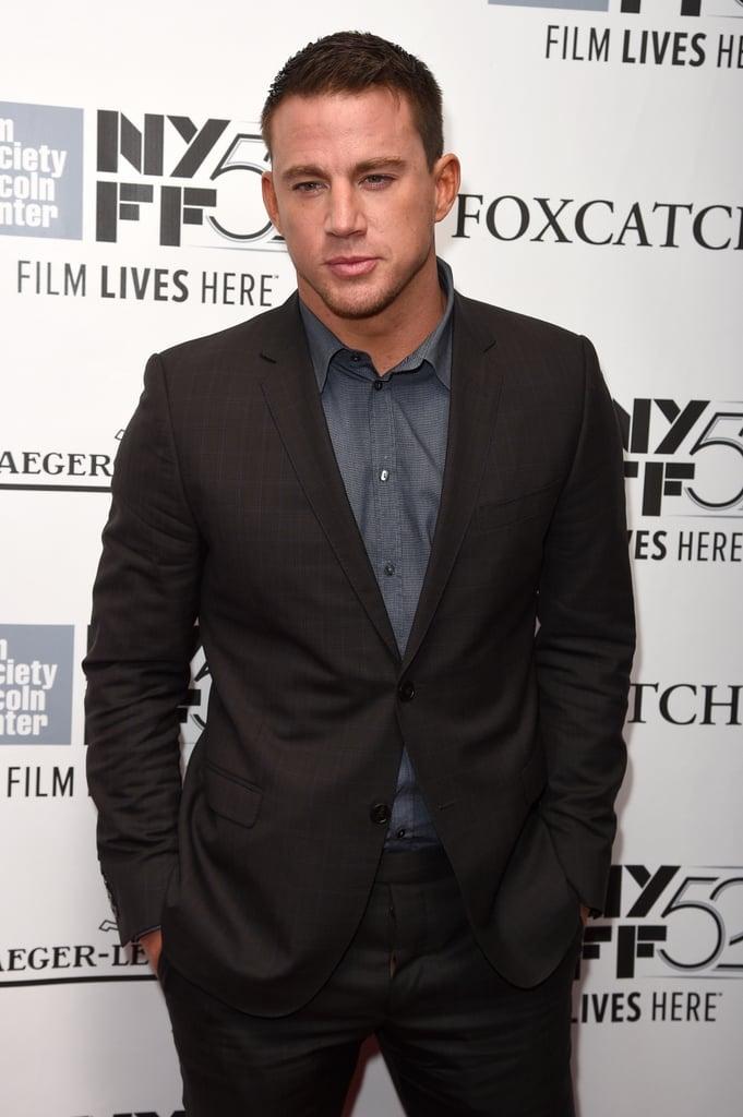 Channing Tatum in 2014