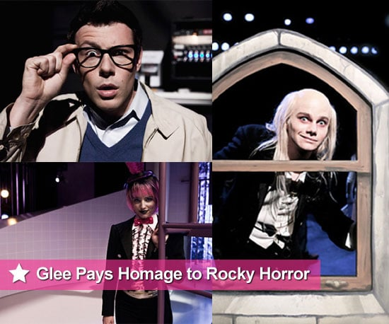Pictures From Glee Rocky Horror Picture Show Episode