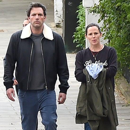 Ben Affleck and Jennifer Garner Out in London May 2016