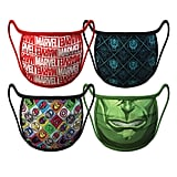 Size Small: Marvel Cloth Face Masks in Small ($20) Size Medium: Marvel Cloth Face Masks in Medium ($20) Size Large: Marvel Cloth Face Masks in Large ($20)